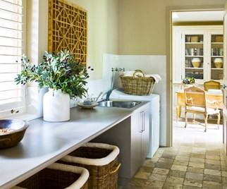 Kitchen laundry renovation