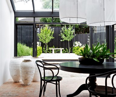 A magnificent monochrome home on Sydney's Lower North Shore