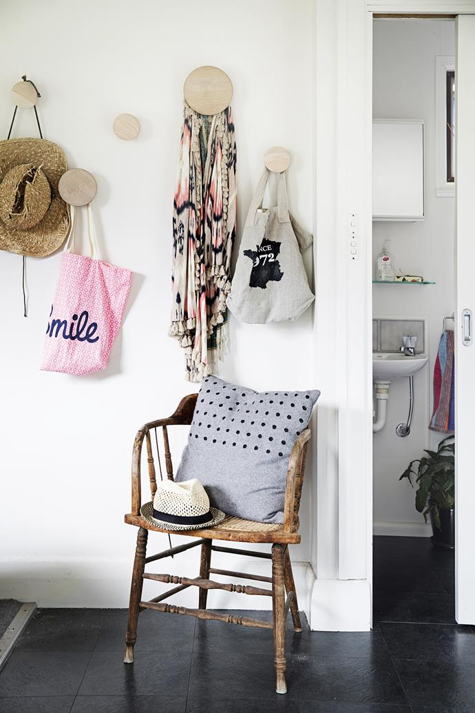 """Claire hangs hats, bags and other paraphernalia on [Muuto](http://www.muuto.com/?utm_campaign=supplier/