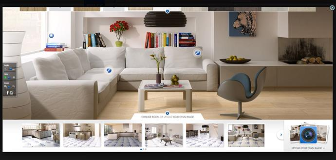 "Quick-Step's online tool [Find Your Dream Floor](http://www.quick-step.com.au/en-AU/FindFloor/?utm_campaign=supplier/|target=""_blank"") lets you see what different types of flooring would look like in your space."