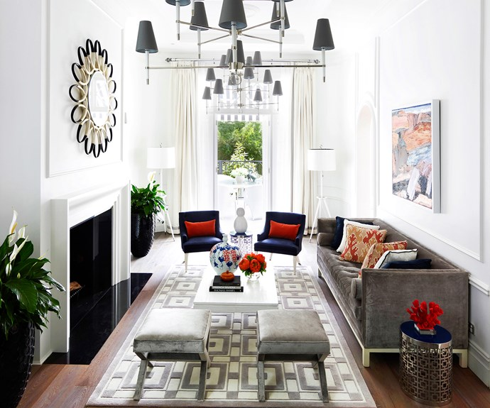 Regency style living room