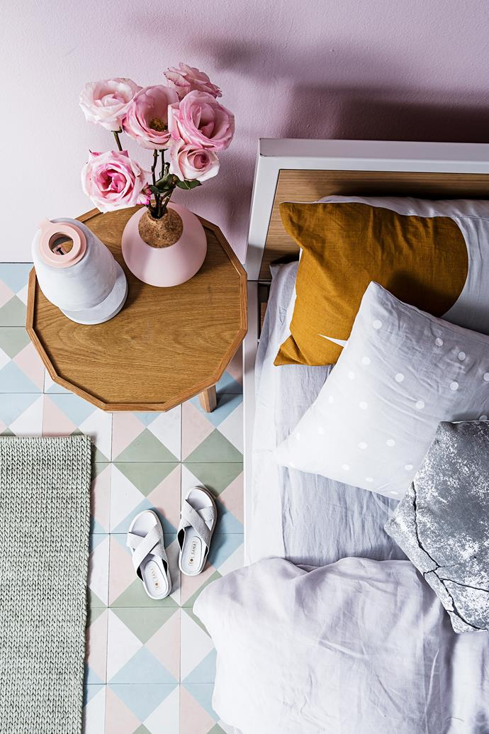 """**Sweet escape** Hunting For George Oliver **bed**, $2099 for queen, from [Life Interiors](http://www.lifeinteriors.com.au/?utm_campaign=supplier/