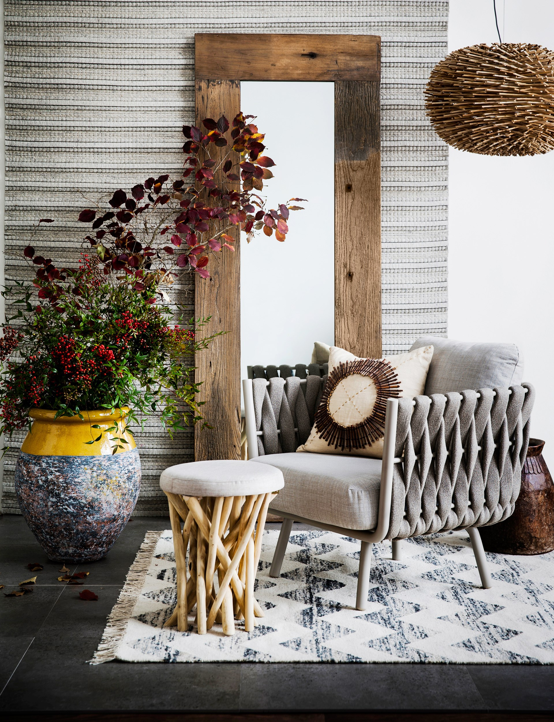 "A rich interior is the sum of its parts. Invest in visually pleasing pieces to build up [textured, enduring style](http://www.homestolove.com.au/mindful-home-decorating-2296|target=""_blank"")."