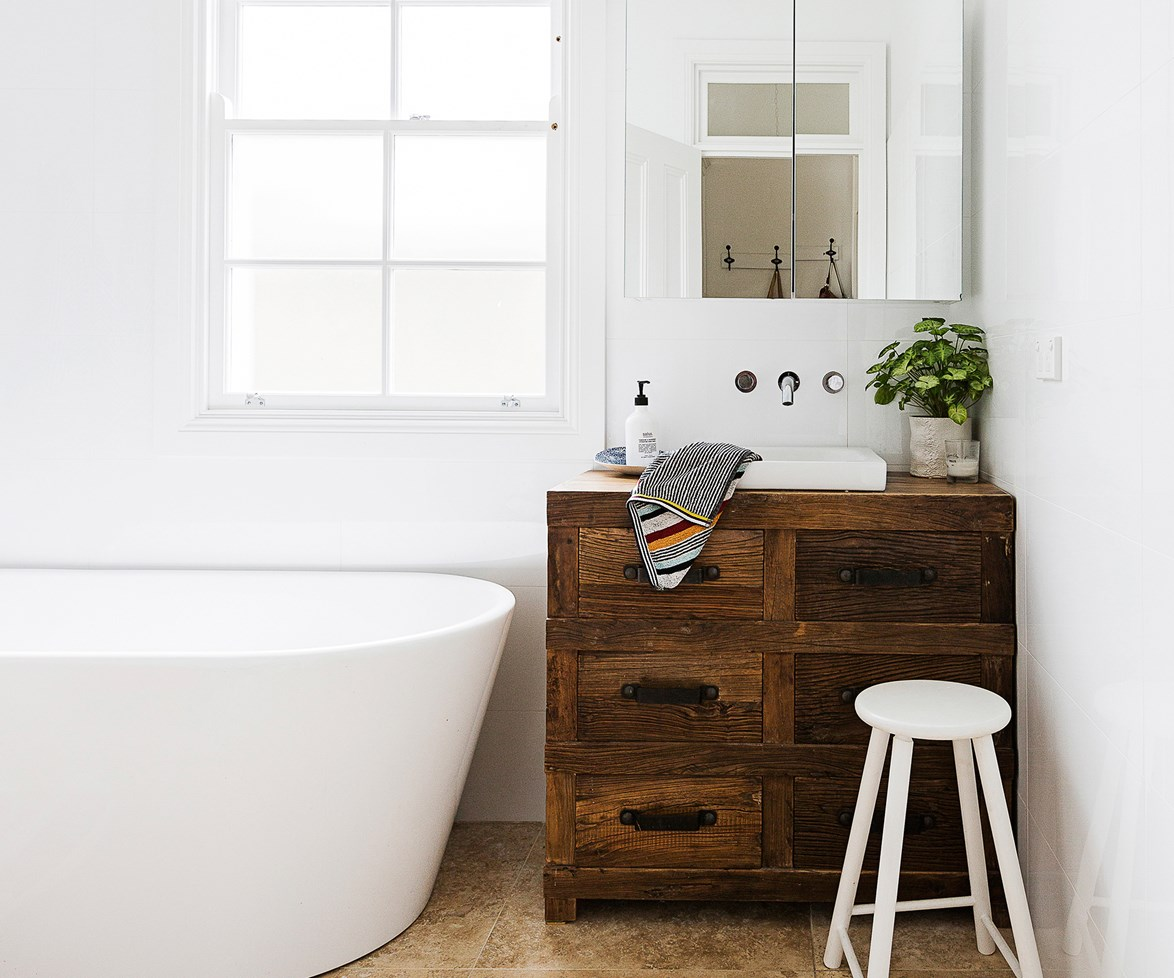 """See our complete guide to [renovating your bathroom](http://www.homestolove.com.au/bathroom-renovation-guide-from-basins-to-bathtubs-2251