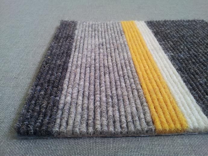 "**Tretford Cord** Sustainably manufactured in Ireland from Mongolian goat hair, this tactile ribbed carpet is a natural insulator and sound dampener as well as incredibly durable. The palette of 61 colours is a bonus. From $95/m² (installed); [www.gibbongroup.com.au](http://gibbongroup.com.au/?utm_campaign=supplier/|target=""_blank"")."