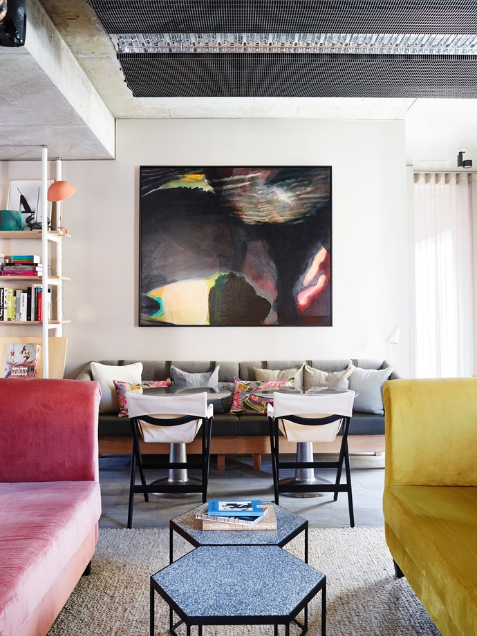 The Alex Hotel features bespoke furniture, artwork and objects. Photo: Anson Smart
