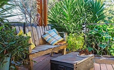 Sharyn and Nick's kid-friendly homemade garden