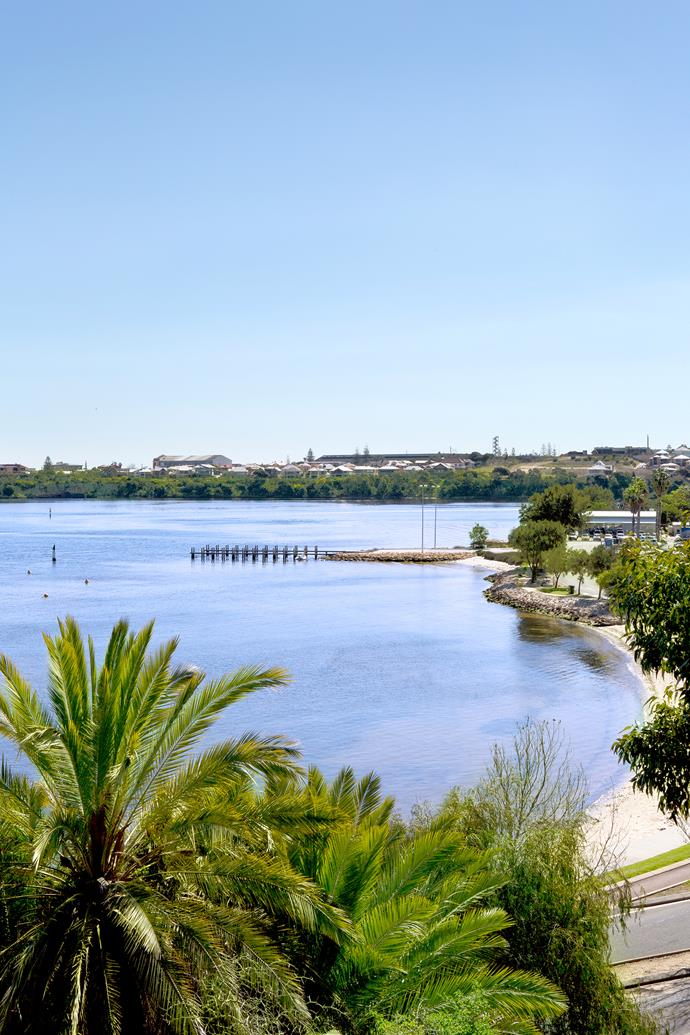 "Since moving to Fremantle from Geraldton, the owners have swapped the coast for urban riverside views. ""Light, both natural and artificial, is important to me,"" says Sue, ""because I think it has a huge influence on mood."""