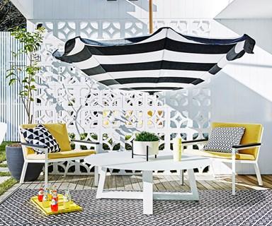Hello sunshine! Garden styling ideas for warm weather