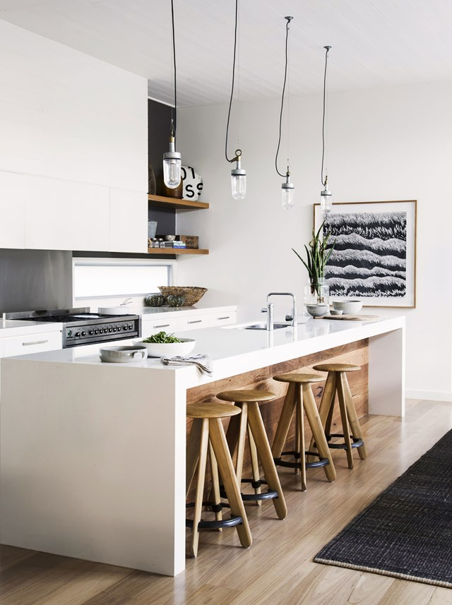 """A well-planned [kitchen layout](http://www.homestolove.com.au/kitchen-renovation-6-kitchen-layouts-you-need-to-know-2336