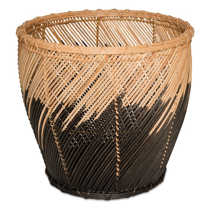 """**Baskets:** Dipped tapered wicker basket, $109 from [Freedom](http://www.freedom.com.au/?utm_campaign=supplier/ target=""""_blank"""")."""