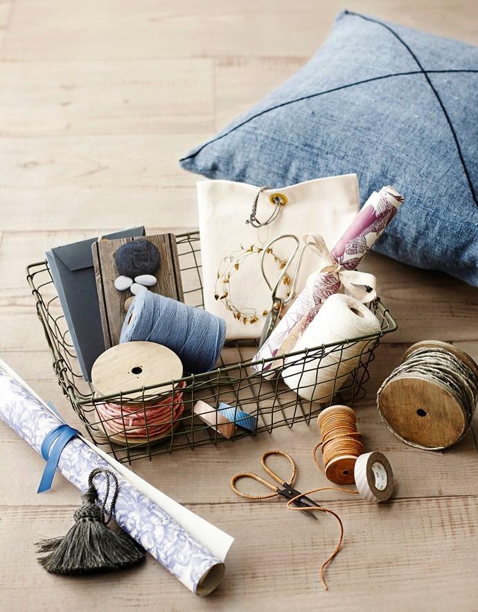 "**Baskets:** Fog Linen mini grocery basket, $43, from [Father Rabbit](http://fatherrabbit.com/?utm_campaign=supplier/ target=""_blank"")."