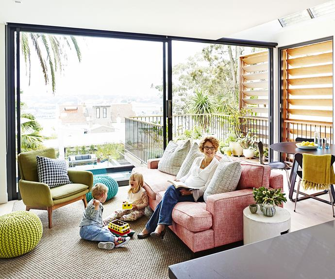 contemporary living room in Sydney's Inner West
