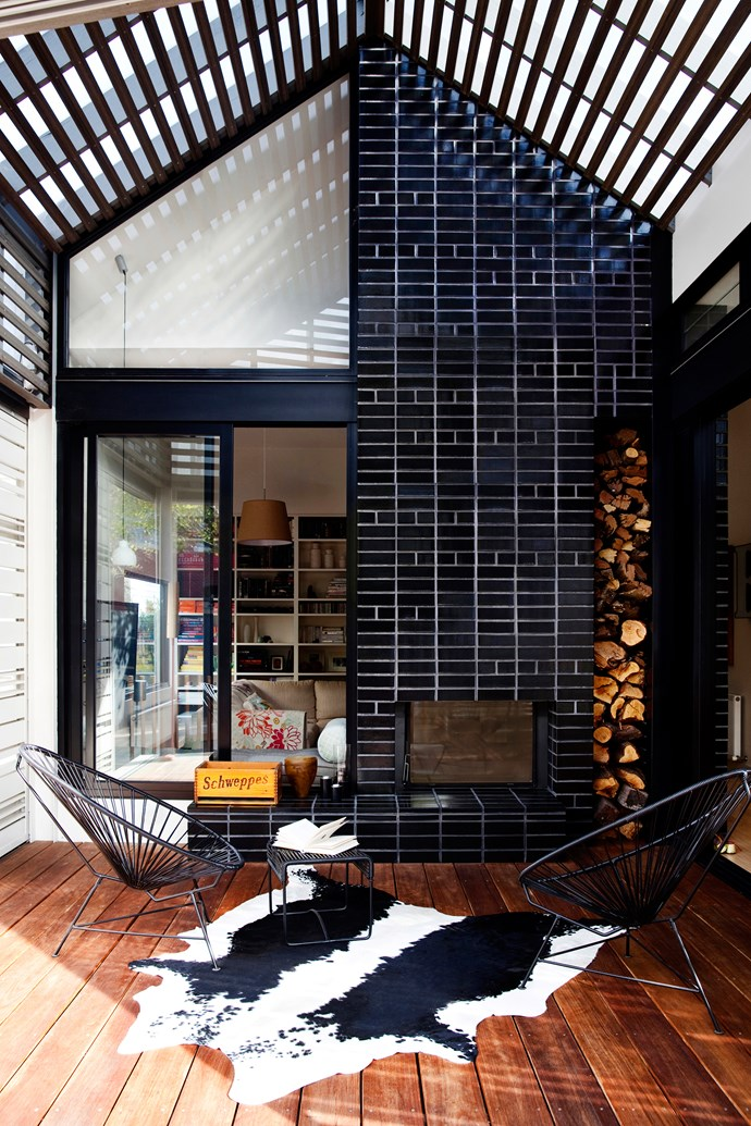 "Black glazed bricks from [Euroa Clay Products](http://www.glazedbricks.com/?utm_campaign=supplier/|target=""_blank""). Photo: Chris Warnes"