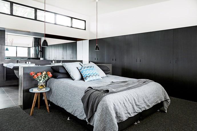 Brisbane inner-city master bedroom
