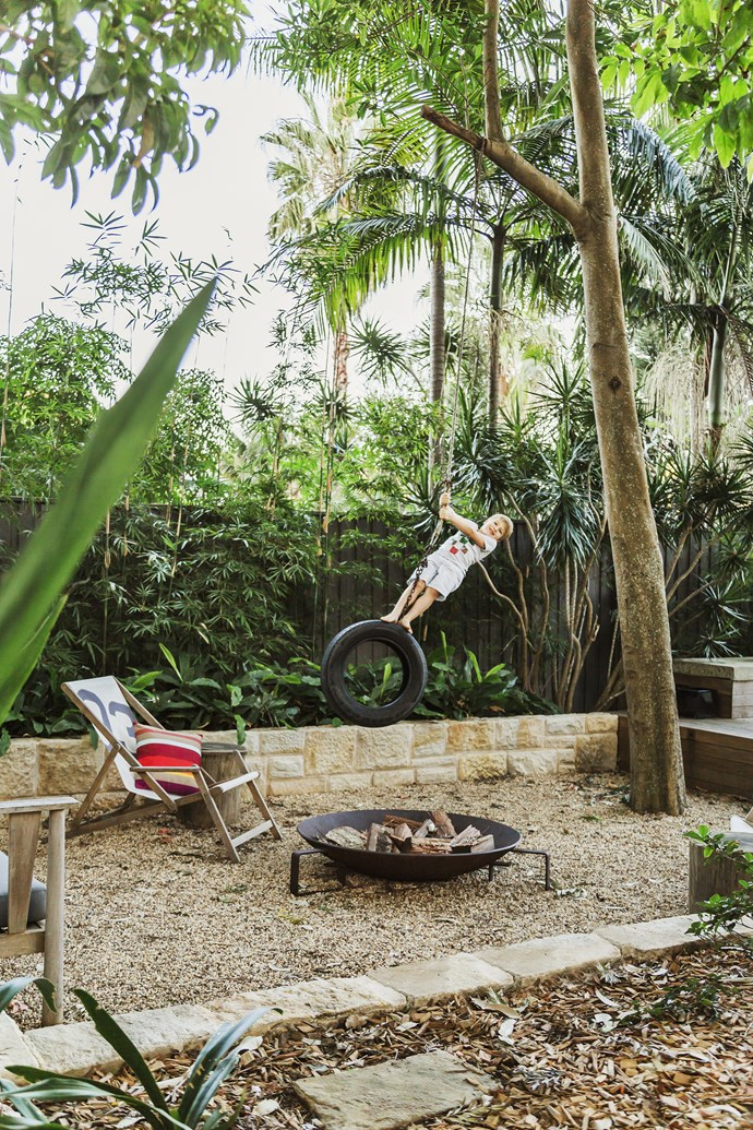 """The tyre swing – a backyard classic. **Deckchair** from [Koskela](http://www.koskela.com.au/?utm_campaign=supplier/