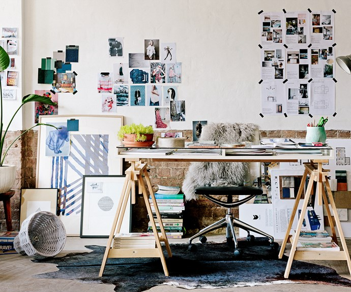 A designers work space