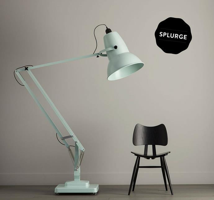 "Giant 1227 floor lamp, $4308.39 from [Lighting55](http://www.lighting55.com.au/?utm_campaign=supplier/|target=""_blank"")."