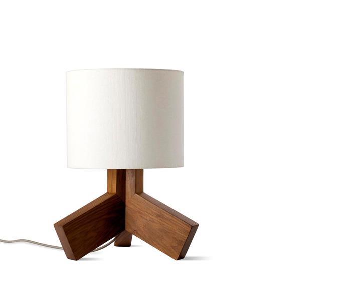 "Rook lamp, $329 from [Blu Dot](http://www.bludot.com.au/?utm_campaign=supplier/|target=""_blank"")."