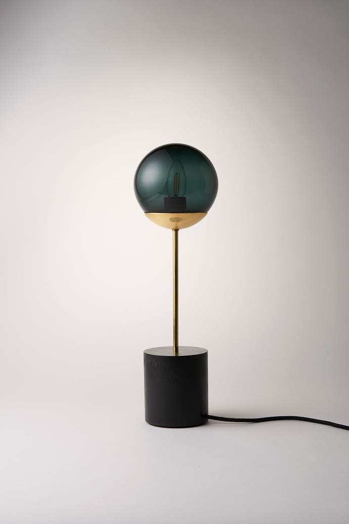 """Line Table Lamp, $565 from [Douglas and Bec]( http://www.douglasandbec.com/nc/story.html ?utm_campaign=supplier/
