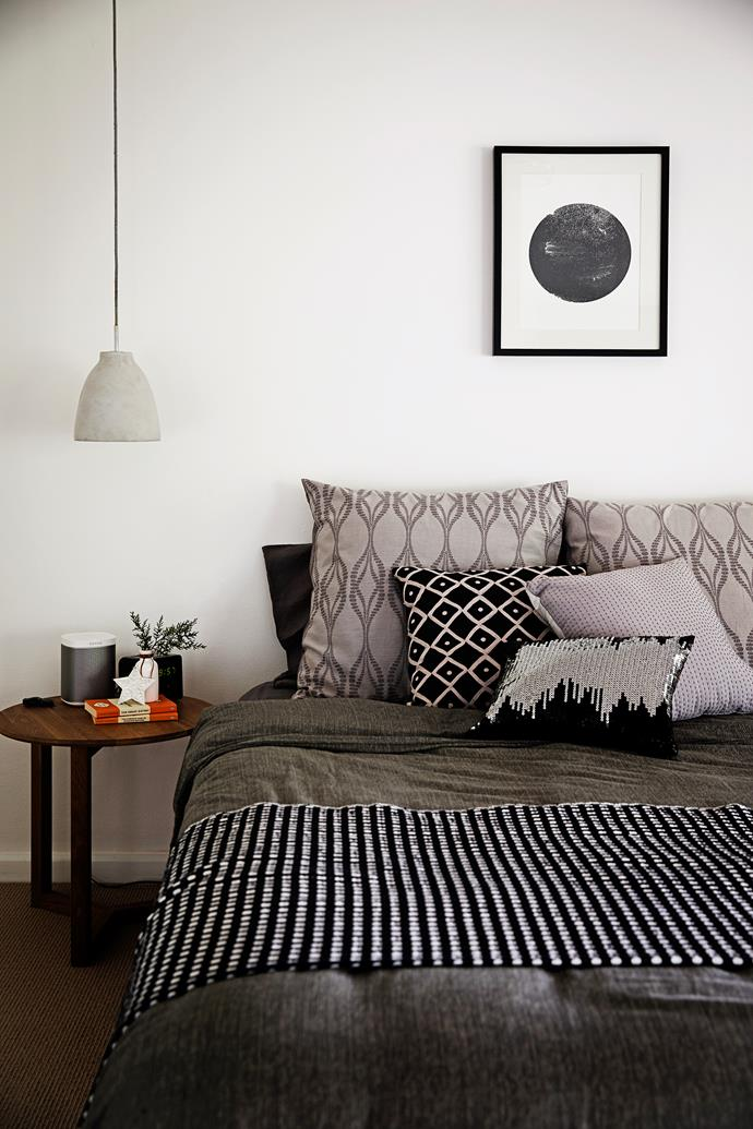 """This Charcoal Dot wall **print** by [Jennifer + Smith](http://www.jenniferandsmith.com.au/?utm_campaign=supplier/