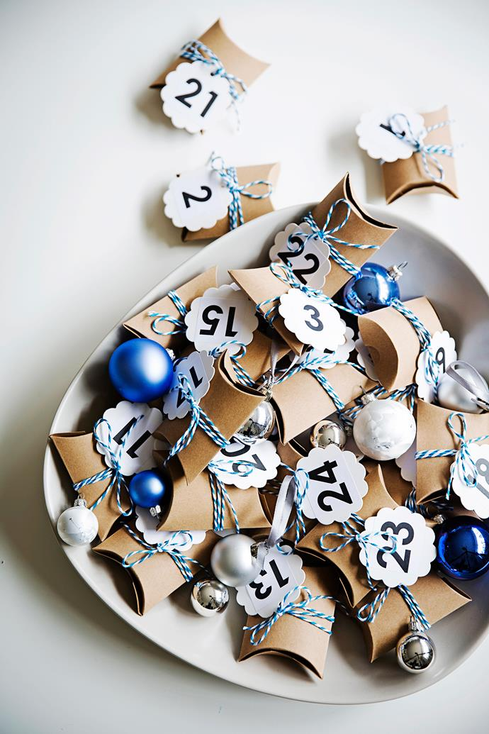 """Choc-filled craft parcels and numbered tags from [Etsy](https://www.etsy.com/?utm_campaign=supplier/