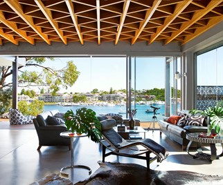 Perth waterfront home