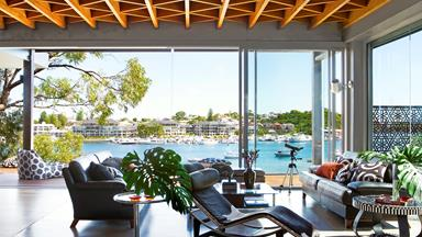 Sue and Mark's Swan River home
