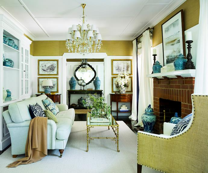 classic-style living room