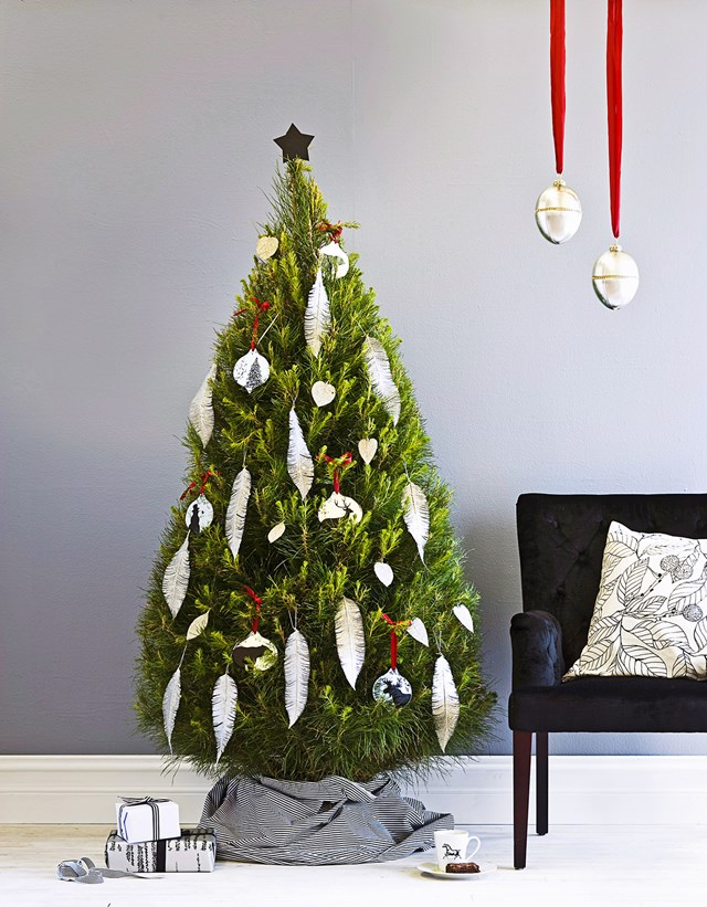 There's nothing like the smell of a real Christmas tree.
