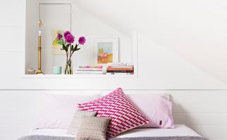 adult pink bedroom