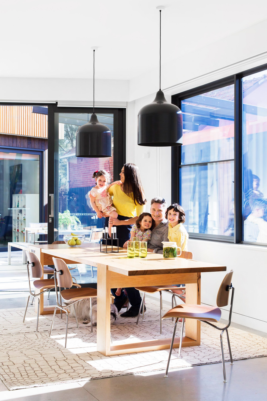 [Happy new home for comedian Dave Hughes](http://www.homestolove.com.au/funny-side-up-dave-hughes-2658). Photo: Martina Gemmola / *Australian House & Garden*