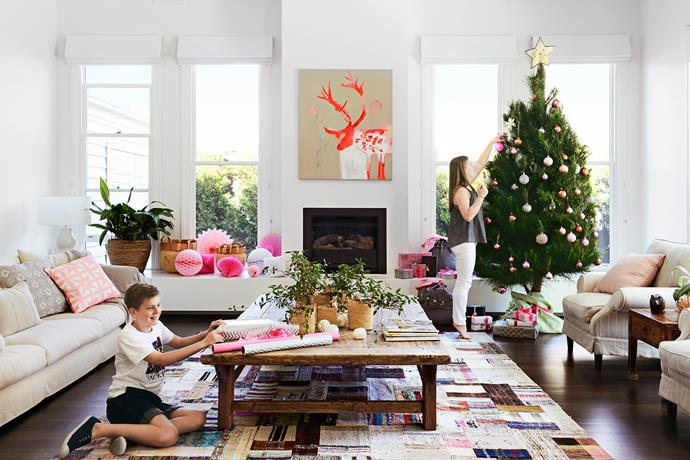 "Once a tired Edwardian cottage, this [Melbourne abode](http://www.homestolove.com.au/renovation-makes-living-easy-inside-and-out-2671|target=""_blank"") is now a fabulous home for a family of five and the focal point for festivities of a decidedly relaxed nature."
