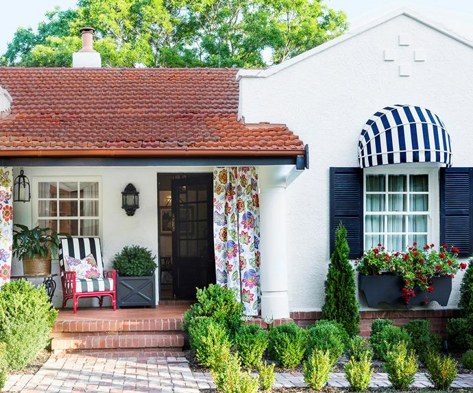 1920s Canberra Spanish Colonial bungalow