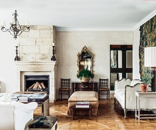 French-inspired country house