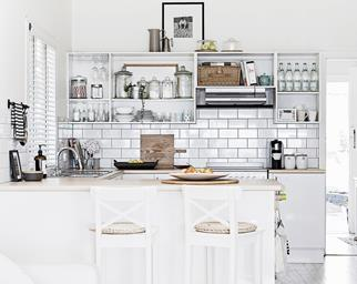 coastal style kitchen