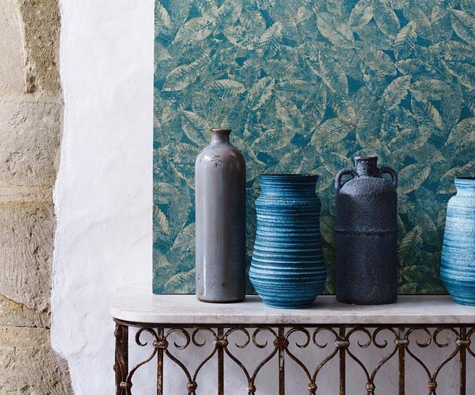 petrol blue homewares