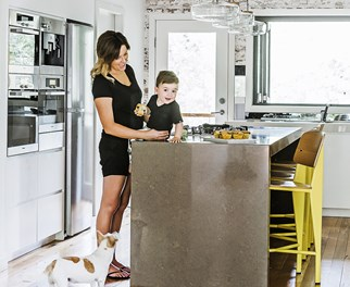 Contemporary family kitchen