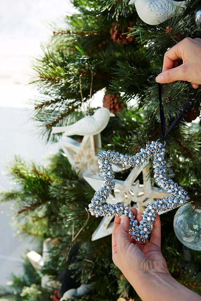 Keep the hero ornaments for feature positions, usually front and centre at eye level, but don't forget to keep them evenly spaced, too. Photo: John Paul Urizar / *bauersyndication.com.au*