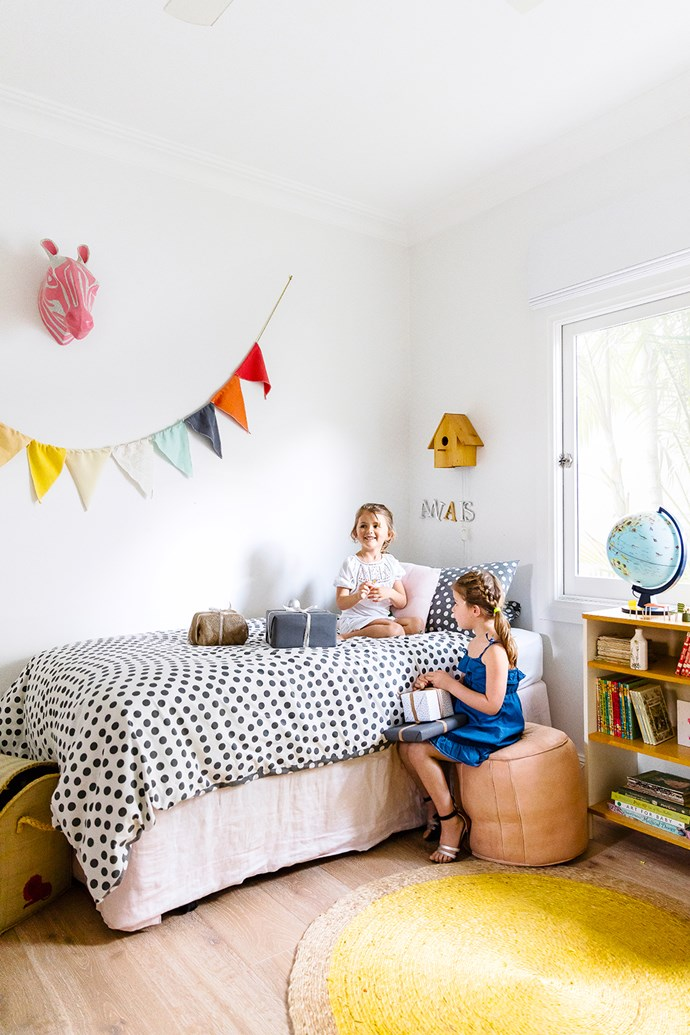 Anais and Milla love their shared bedroom.