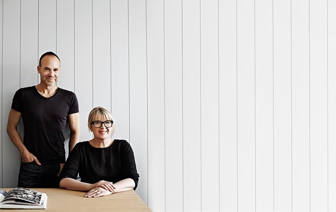 """Steven and Carole Whiting love the pared-back style of their Melbourne home. """"It is not about making a massive statement,"""" Carole says. """"It is, however, about finding the balance between simplicity and warmth and creating a sense of home."""""""