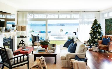 Lynda's revamped home by the bay