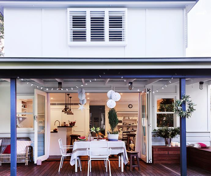 Sydney country-styled vintage dining room
