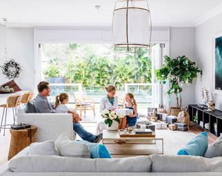 Contemporary coastal home
