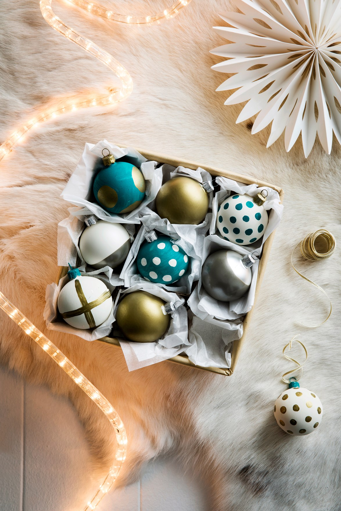 Storing your Christmas decorations carefully will help to preserve them for years to come. Photo: Chris Warnes