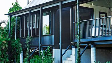 Queenslander reno brings the outdoors in