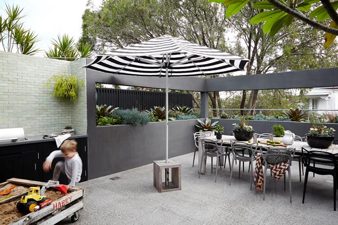 """Transform your neglected balcony into an [outdoor entertaining zone](http://www.homestolove.com.au/how-to-pimp-out-your-balcony-2161 target=""""_blank"""") perfect for summer soirées. Photo: Natalie Hunfalvay"""