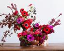 4 festive floral centrepieces for Christmas