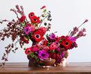 4 festive floral centrepieces for Christmas
