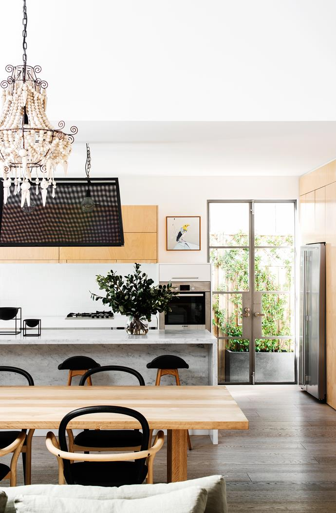 "Good kitchen access is essential. The open-plan layout of this [airy family home](http://www.homestolove.com.au/freedom-comes-first-in-accessible-family-home-2701|target=""_blank"") makes getting food on the table a breeze! *Photo: Nicholas Watt*"